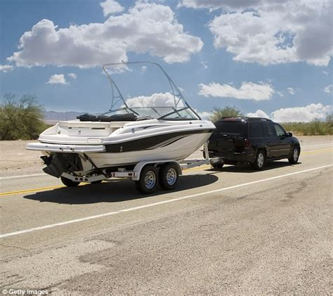 Driving Yamaha Boat by Drunk Child 3 Found In A Boat Being Towed Down A Highway
