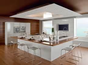 cuisine en l avec ilot cuisine avec îlot central nos inspirations travaux com