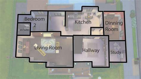 mod  sims  windsor grove  bedroom family home