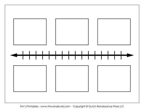 printable blank timeline tims printables