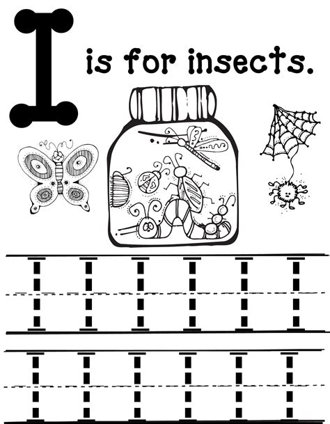 letter i activities for preschool i is for insects school oopsey 812