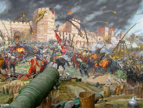 siege warfare constantinople prepares for siege weapons and warfare