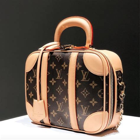 louis vuitton mini luggage bag reference guide spotted fashion