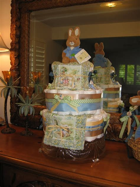 peter rabbit diaper cake  life   party