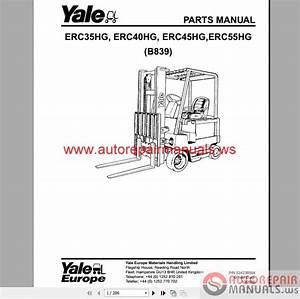 Yale Forklift Full Set Pdf  Parts  U0026 Manuals