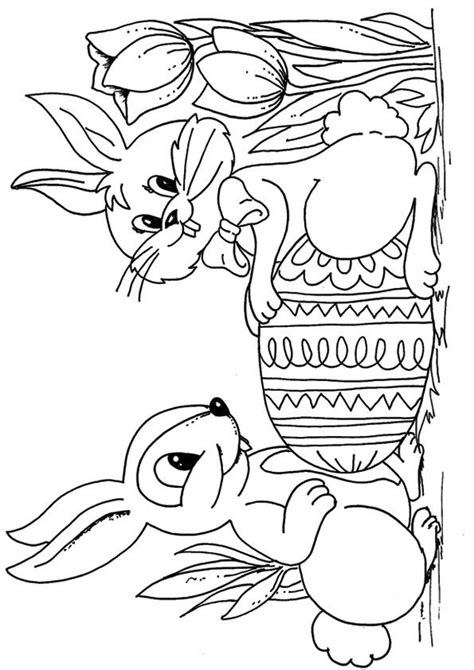 easter bunny coloring pages  toddler  love  color bunny coloring pages