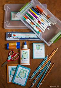 32 diy ideas for back to school supplies diy projects for Diy school labels