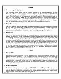 agent contract template resume template sample With templating agent