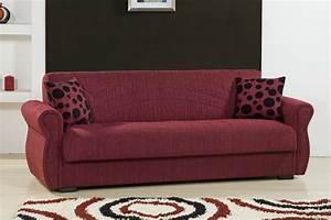 rain chenille maryposo burgundy sofa bed by kilim With burgundy sofa bed