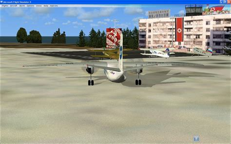 north korea skies scenery  fsx