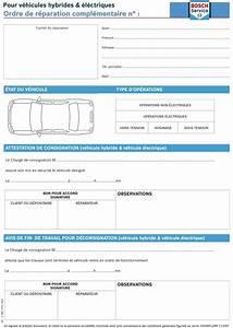 Ordre De Réparation : liasses ordres de r paration hybride boutique bosch car services ~ Medecine-chirurgie-esthetiques.com Avis de Voitures
