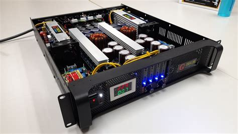คลาสดี สวิตชิ่ง Pa7000w G-tech Power - YouTube