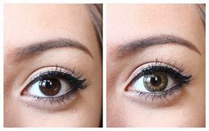 Image Gallery hazel contacts dark eyes