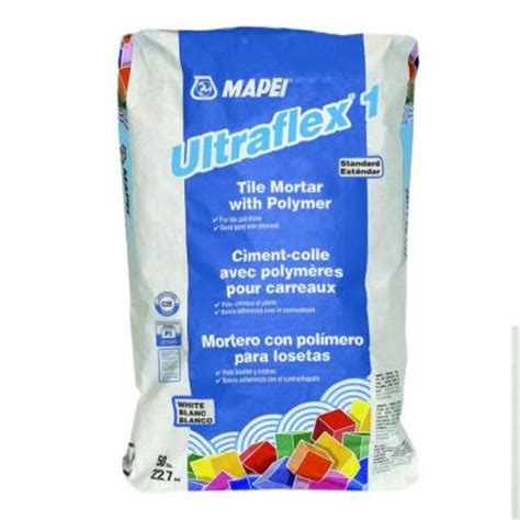 ultraflex 2 mortar mapei ultraflex 1 50 lb white mortar with polymer 0060049 the home depot