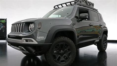 jeep  ute concept   tougher renegade roadshow