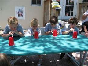 minute to win it for summer happy home