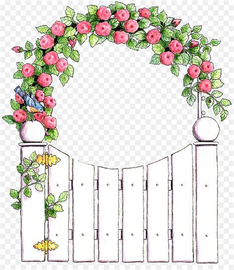 Garden Decoration Png by الوردي Png قصاصة فنية أفضل الحدود زهرة الأزهار تصميم