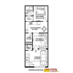 house layout program house plan for 17 by 45 plot plot size 85 square yards gharexpert