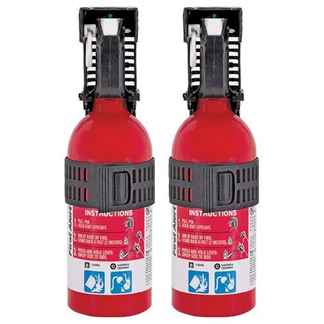 alert auto fire extinguishers  pack