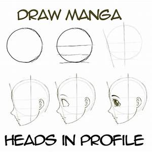 How to Draw Anime & Manga Faces & Heads in Profile Side ...