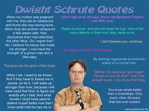 Funny Office Qu... Dwight Schrute Fact Quotes