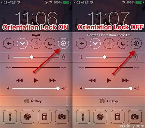 iphone auto rotate how to disable screen rotation on iphone 6 plus