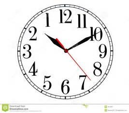 uhr dã nisches design backwards clock stock images image 461334