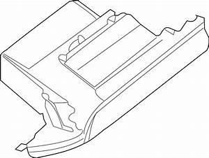 Nissan Maxima Glove Box  Lower   Inst  Pad  Lid