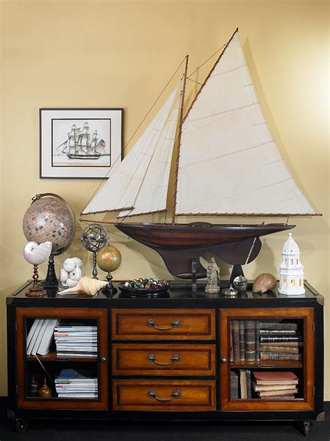 combining    nautical decor elements  ship models nautical handcrafted decor blog