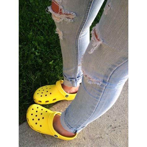 White Crocs Classic Clog