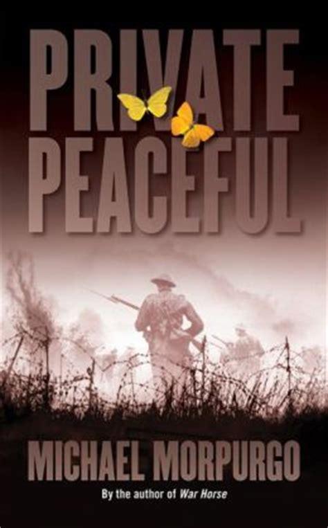 private peaceful  michael morpurgo