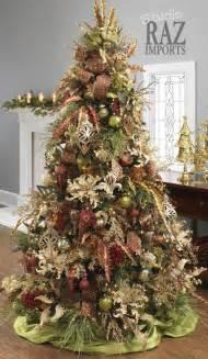 60 gorgeously decorated christmas trees from raz imports style estate