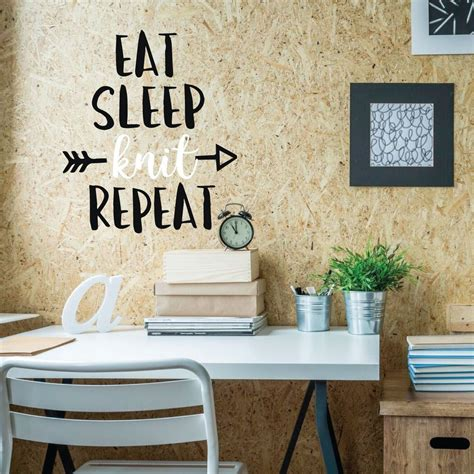 Let this piece enhance your space with its blend of style and charm. Funny Wall Art Eat Vinyl Decor Wall Decal - CustomVinylDecor.com