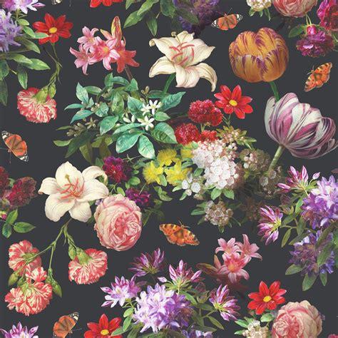 vintage floral wallpaper   cool high