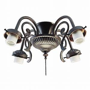 Harbor breeze ceiling fan light kit lowes : Harbor breeze light copperstone a medium base