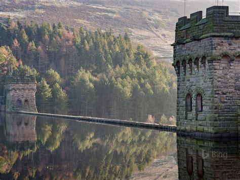 england derbyshire derwent reservoir  bing wallpaper