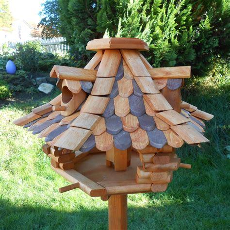 vogelhaus mit silo design vogelhaus mit silo vogelfutterhaus vogelvilla holz vogelh 228 user o st 228 nder ebay