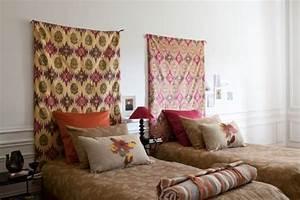 Tissu Pour Tete De Lit : etofea t te de lit tissu jet s et t te de lit sur mesure paris ~ Preciouscoupons.com Idées de Décoration