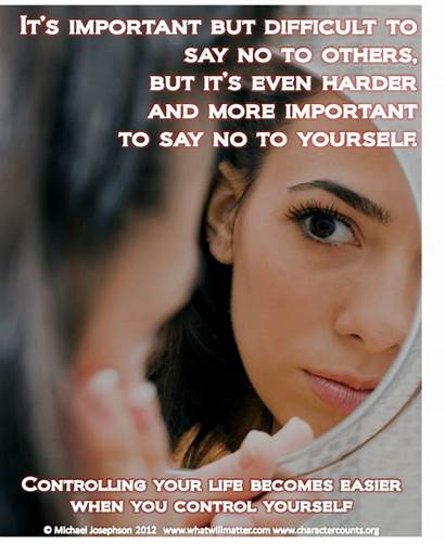 Control Self Controlling Yourself Others Quotes Poster