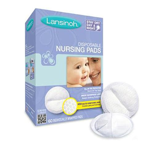Lansinoh Disposable Nursing Pads 60 Individually Wrapped
