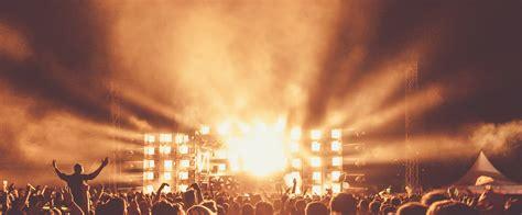 concert crowd spotlight background concert crowd