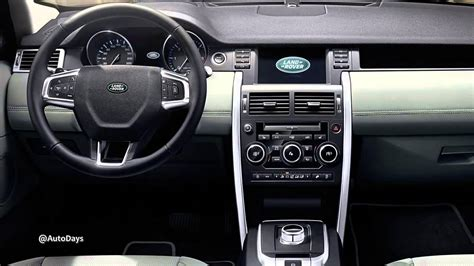 Land Rover Discovery Sport Interior Wallpaper
