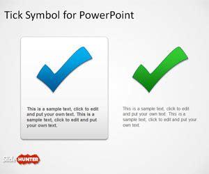 tick symbol  powerpoint