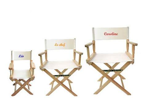 chaise de metteur en scène idee mode bon plans et diy