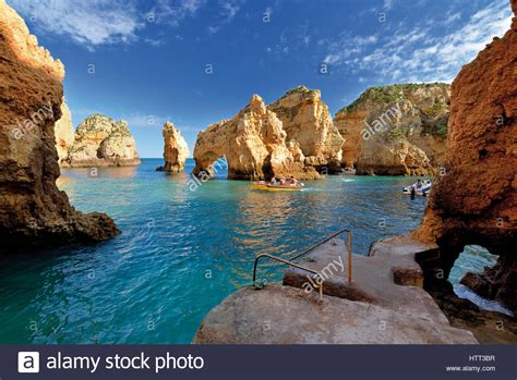 Rock The Boat En Francais by Algarve Boat Trips Along The Rock Formations And