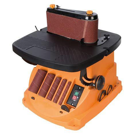 triton  oscillating spindle belt sander tspst bench top sanding machines yandle