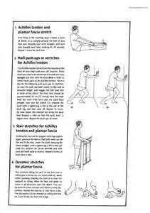 Plantar Fasciitis Stretching Exercises