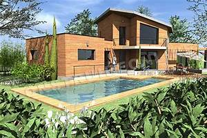 plan de maison moderne bahia With plan de maisons gratuit 6 une maison en bois ronde et ecologique travaux