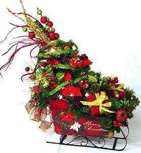 17 Best Images About XMAS SLEDS On Pinterest Floral