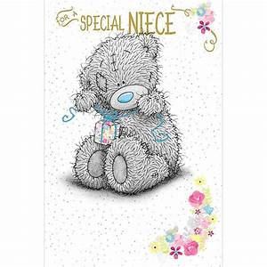 Special Niece Birthday Me to You Bear Card (A01MS321) : Me ...